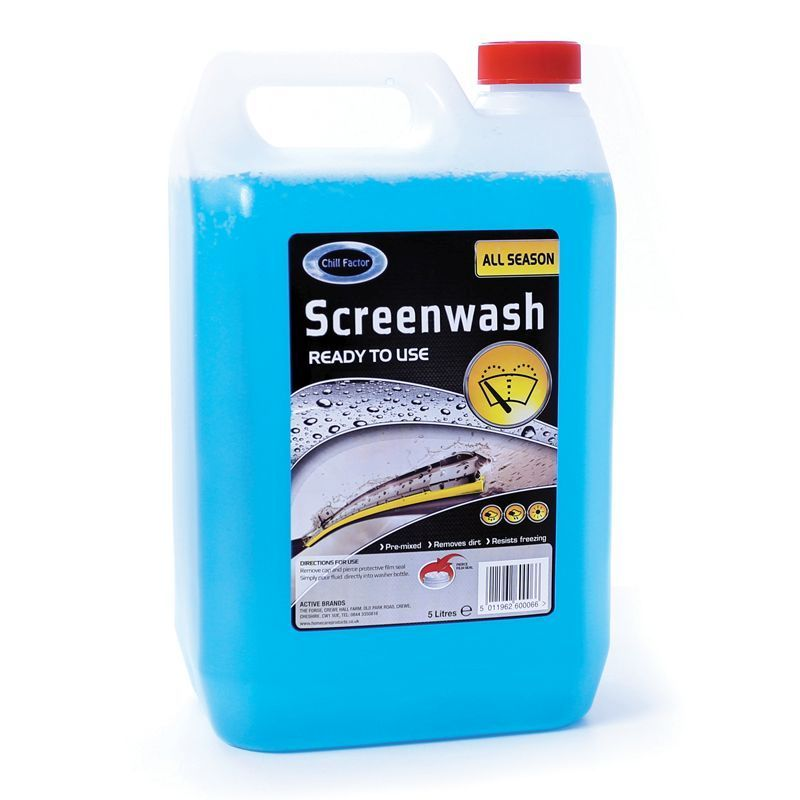 5 Litre Chill Factor Ready to Use Screen Wash
