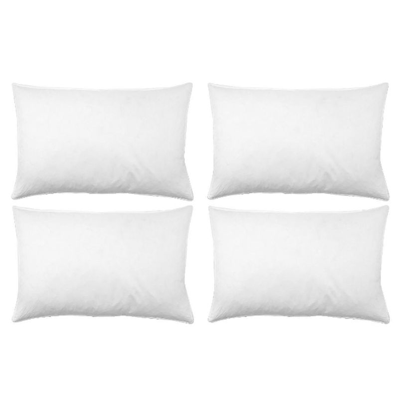 Soft bed pillows 4 pack buy online at qd stores for Best soft bed pillows