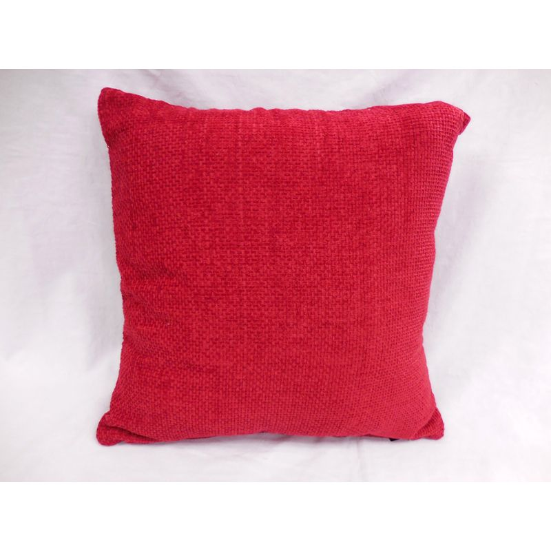 Jacquard Red Sofa Cushion (2 for £10)