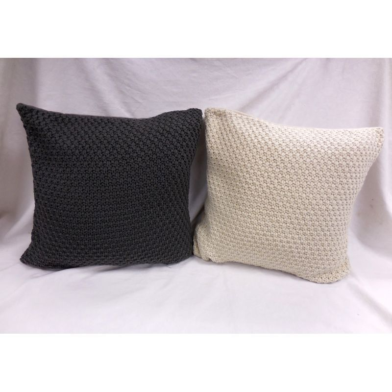Knitted Sofa Cushion (2 for £10)