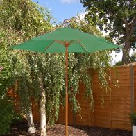 See more information about the Green Wooden Parasol (2m)