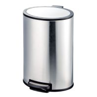 See more information about the 40 Litre Stainless Steel Oval Pedal Bin
