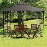 See more information about the Merion Gazebo Replacement Cover Charcoal