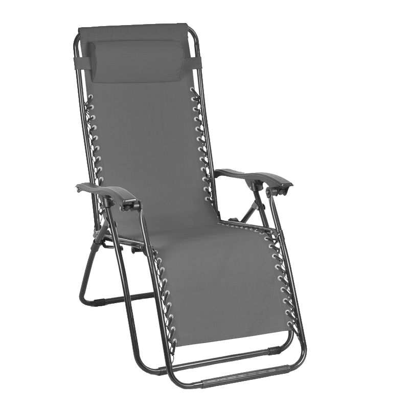 Charcoal Loire Zero Gravity Recliner