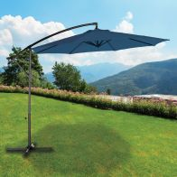 See more information about the Croft 3M Navy Overhang Crank Parasol