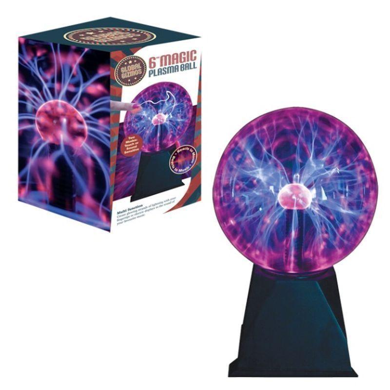 Plasma Ball Toy : Inch magic plasma ball buy online at qd stores