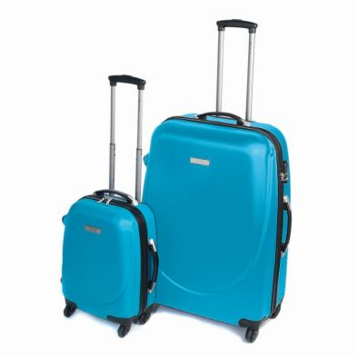 Teal Hacienda Suitcase (16 Inch)