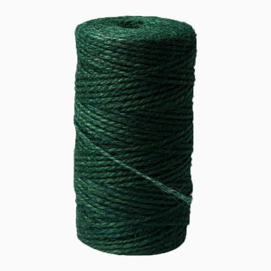 100g Green Jute Twine Spool