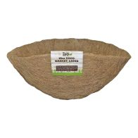See more information about the Growing Patch 16 Inch Coco Moulded Hanging Basket Liner