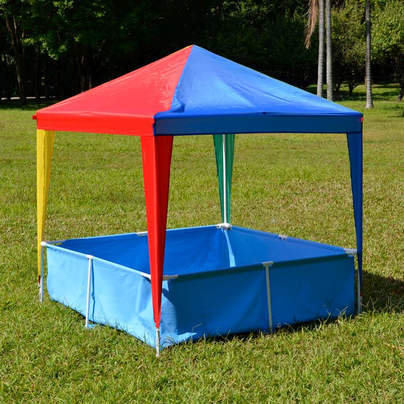 Kids 1.46 x 1.46m Gazebo With Pool