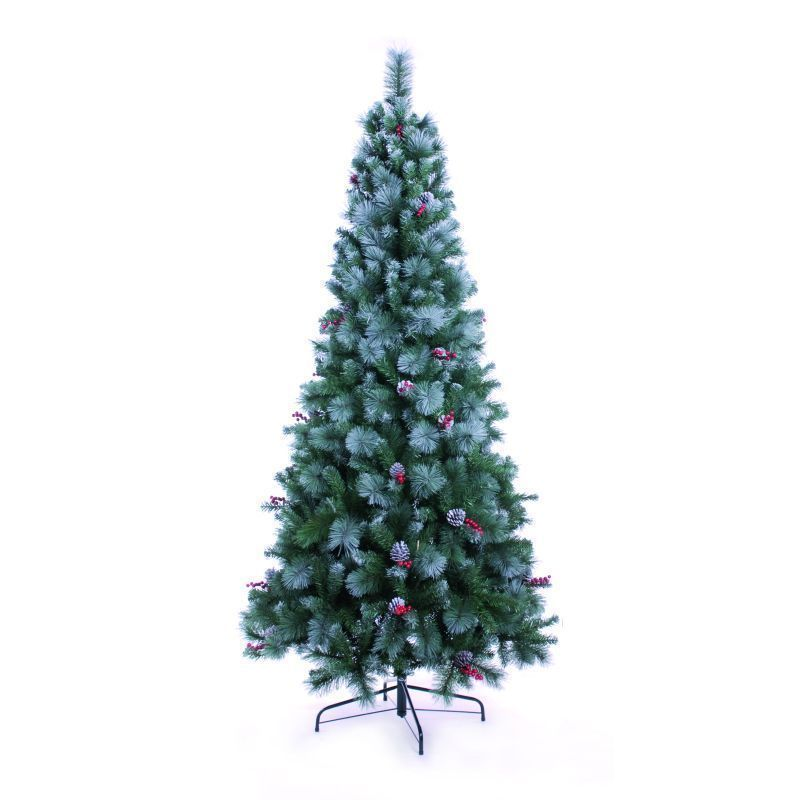 Frosted Virginia Artificial Pine Tree (2.10m / 7ft)