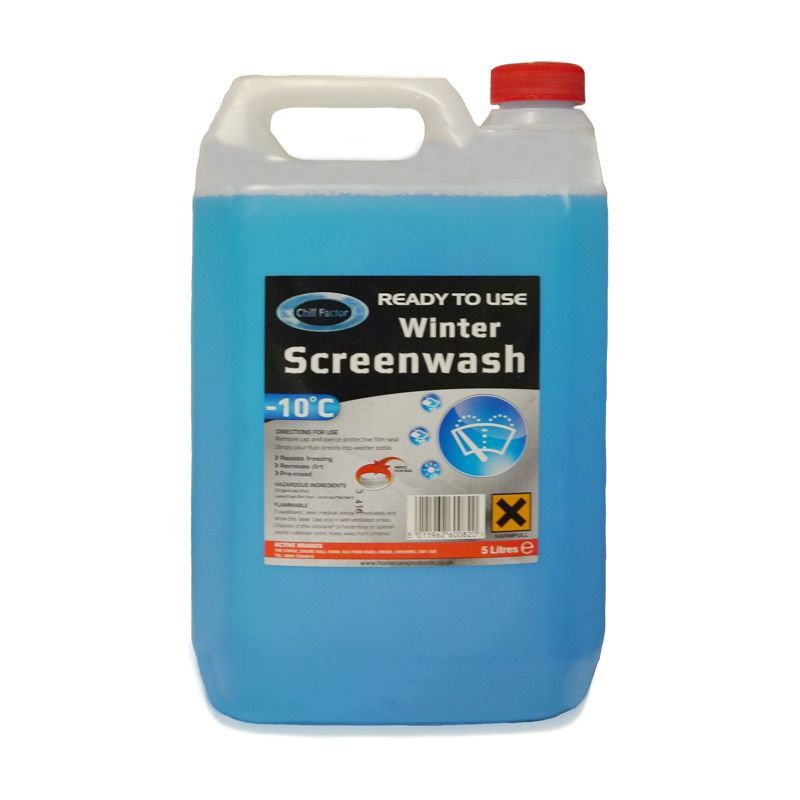 5L Chill Factor Ready To Use Screen Wash