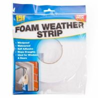 See more information about the 151 2PK Foam Weather Strip Draught Excluder 10m