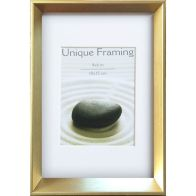 "See more information about the Metro Gold Photo Frame (6"" x 4"")"