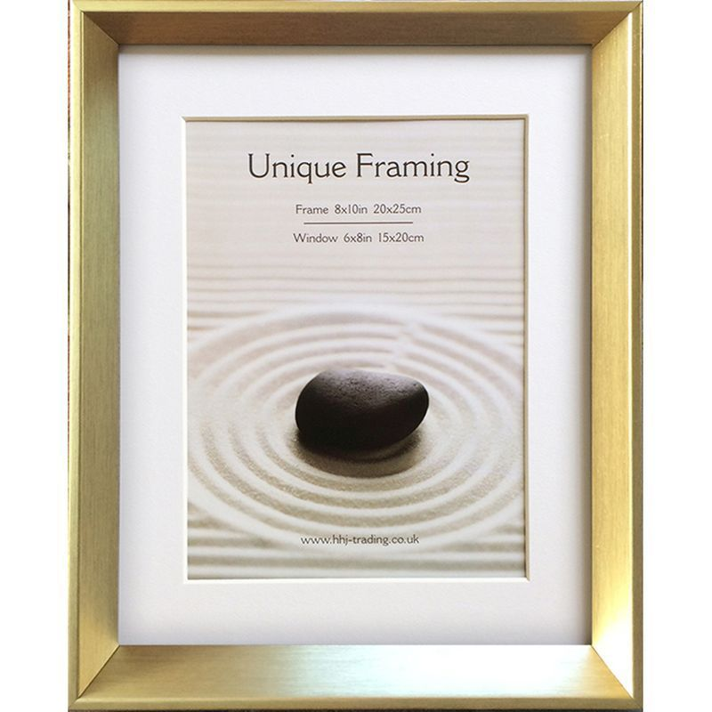 "Metro Gold Photo Frame (10"" x 8"")"