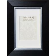 "See more information about the Unique Framing Black Contemporary Edge Photo Frame (6"" x 4"")"
