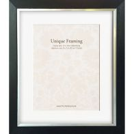 "See more information about the Black Contemporary Edge Photo Frame (12"" x 10"")"