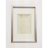 "See more information about the White Contemporary Edge Photo Frame (6"" x 4"")"