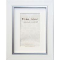 "See more information about the White Contemporary Edge Photo Frame (7"" x 5"")"