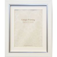 "See more information about the White Contemporary Edge Photo Frame (10"" x 8"")"