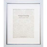 "See more information about the White Contemporary Edge Photo Frame (14"" x 11"")"