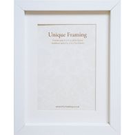 "See more information about the Unique Framing White Photo Frame (8"" x 6"")"