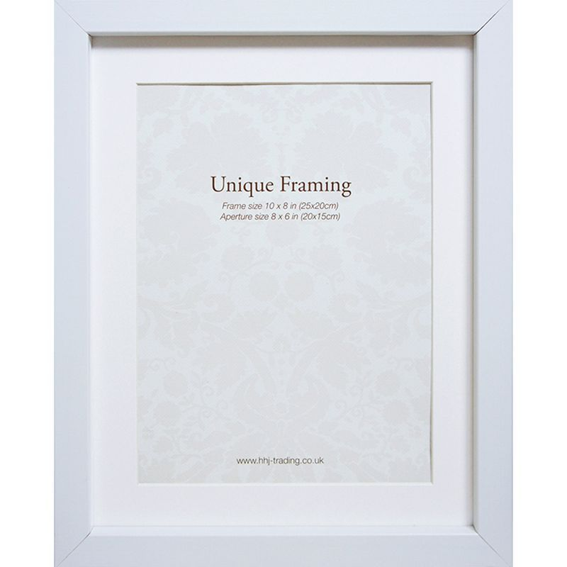 "White Photo Frame (10"" x 8"")"