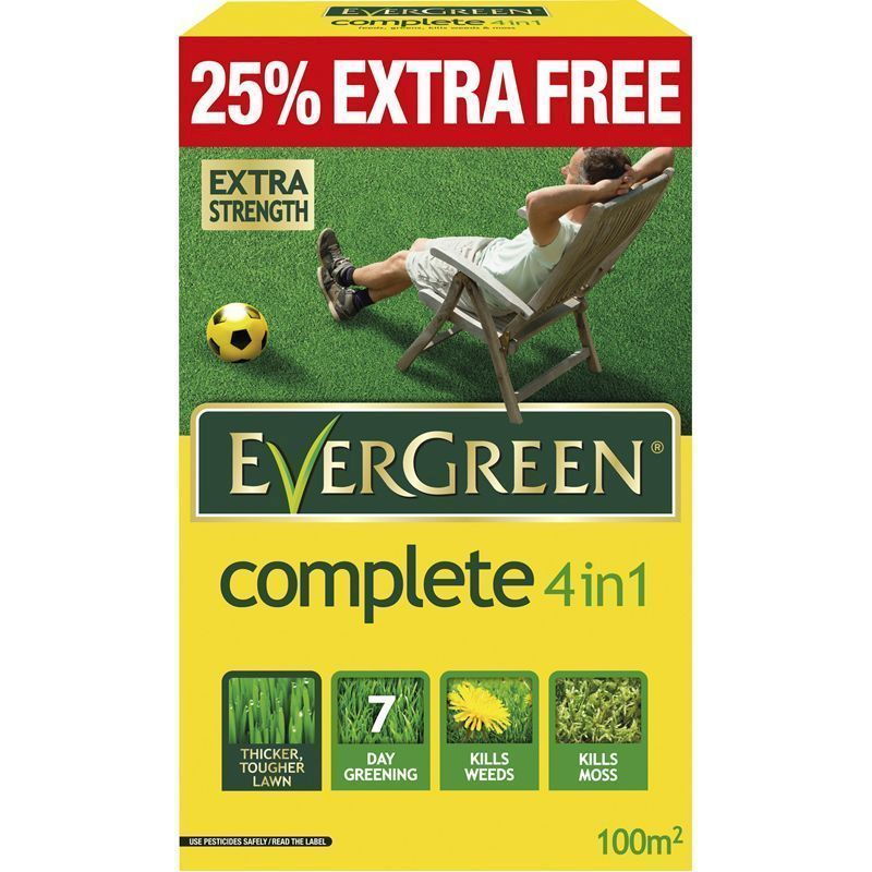 Evergreen 4 in 1 Complete Water Smart 80 Sqy Meter Coverage +25% Free