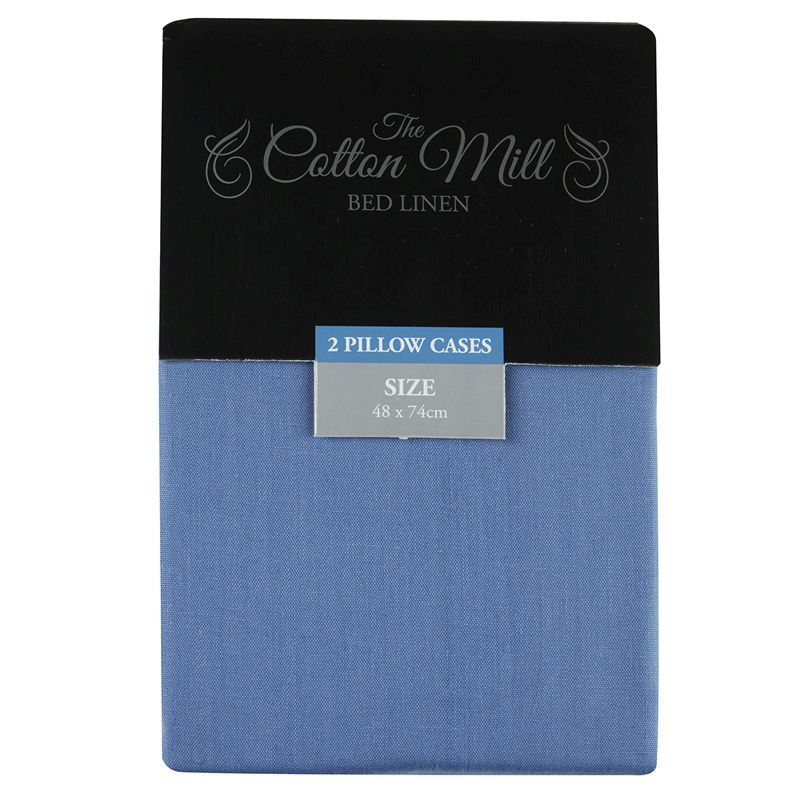 Blue 2 Pack Pillow Case