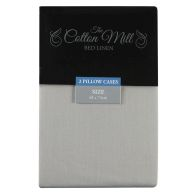 See more information about the Cotton Mill Silver 2 Pack Pillow Case