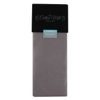 See more information about the Cotton Mill Heather Double Poly Cotton Fitted Sheet