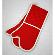 See more information about the Red Premium Double Oven Glove