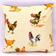 See more information about the Chicken Feather Cushion (45 x 45cm)