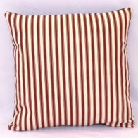 See more information about the Cranberry Stripe Cushion (60 x 60cm)