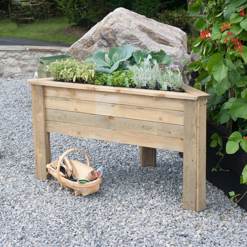 Deep Root Corner Planter