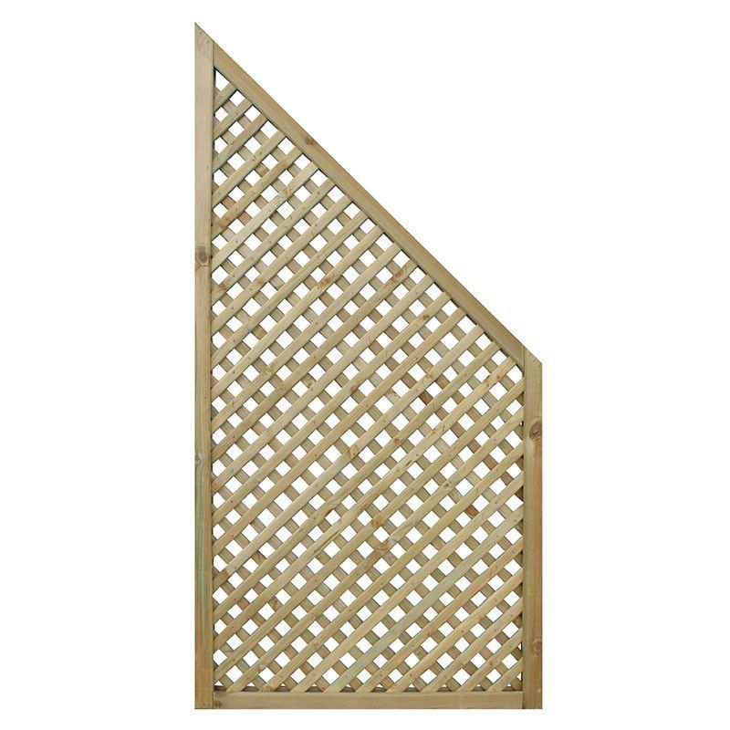 Privacy Diamond Trellis End Panel Pack Of 2)