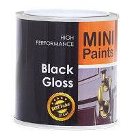 See more information about the Mini Paints Gloss Paint 215ml - Black
