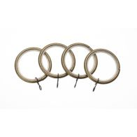 See more information about the Universal 19mm Antique Brass Metal Curtain Rings 4 Pack