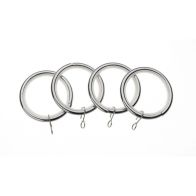 See more information about the Universal 28mm Chrome Metal Rings Pack 4