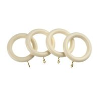 See more information about the Universal 28mm Cream Curtain Rings 4 Pack