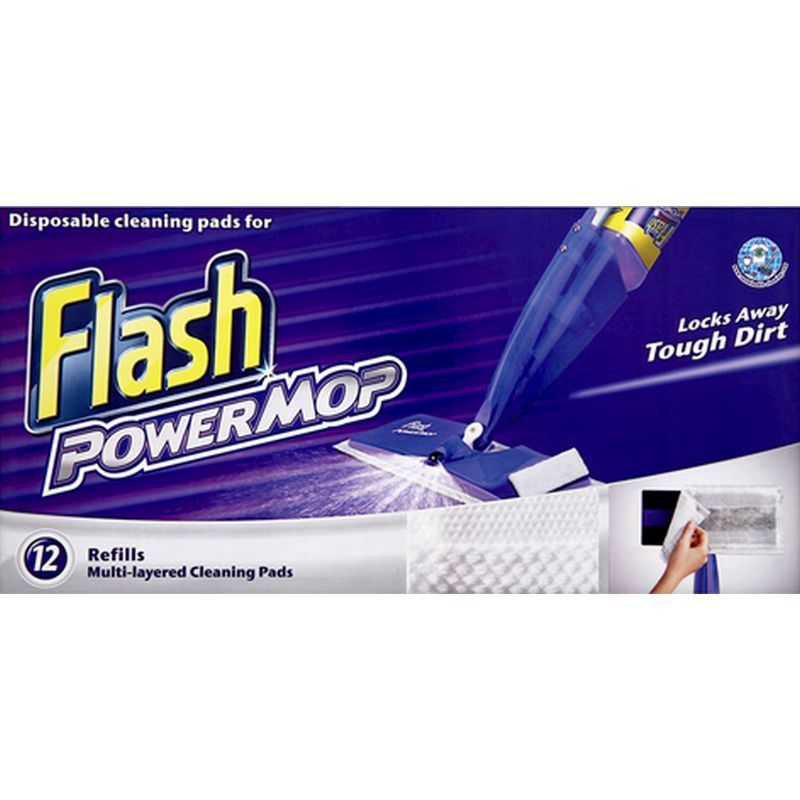 Flash Power Mop Cleaning Refills 12 Pack Buy Online At
