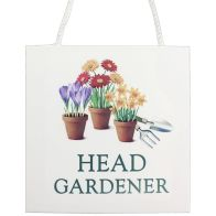 See more information about the Head Gardener Plaque