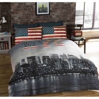 See more information about the King NYC Reversible Duvet Set