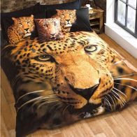See more information about the Leopard Double Duvet Set