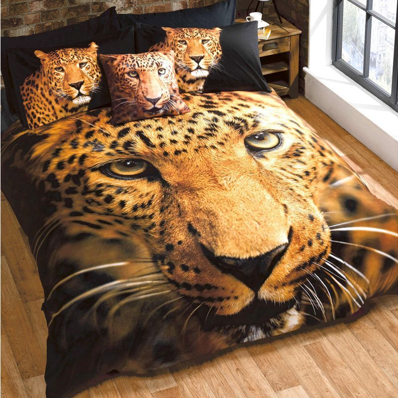 Leopard Double Duvet Set