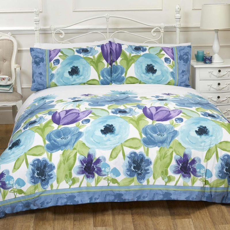 Isabella Blue King Duvet Set
