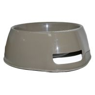 See more information about the Happy Pet Jumbo Round (Non Slip) Pet Bowl - Brown