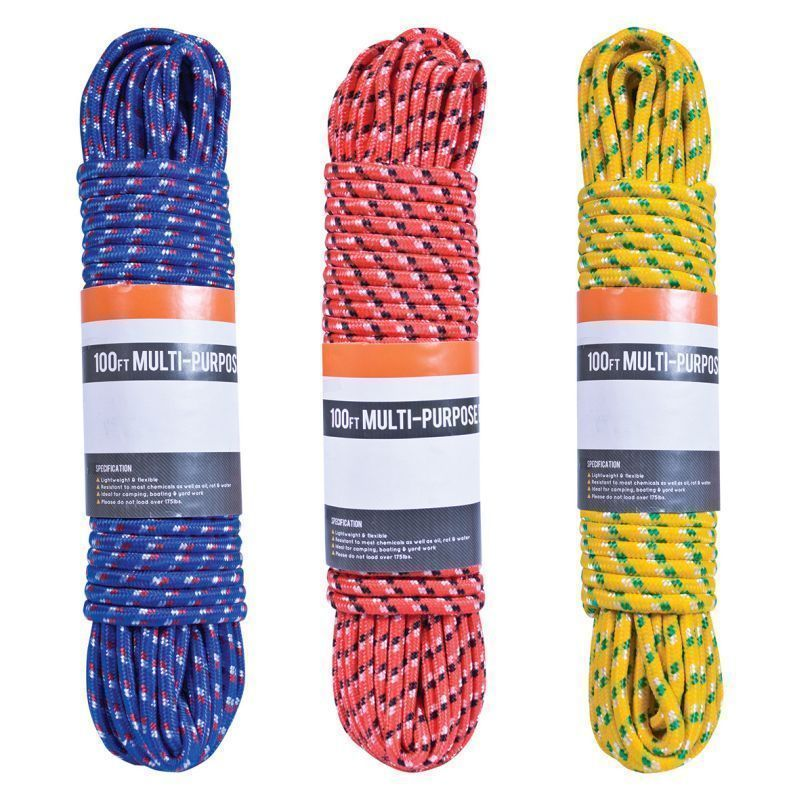 Milestone 100ft Rope (Red)