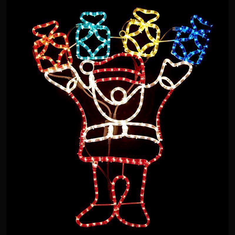 Santa Gift Box Christmas Rope Lights - Buy Online at QD Stores
