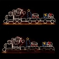 See more information about the Santa Train Christmas Light